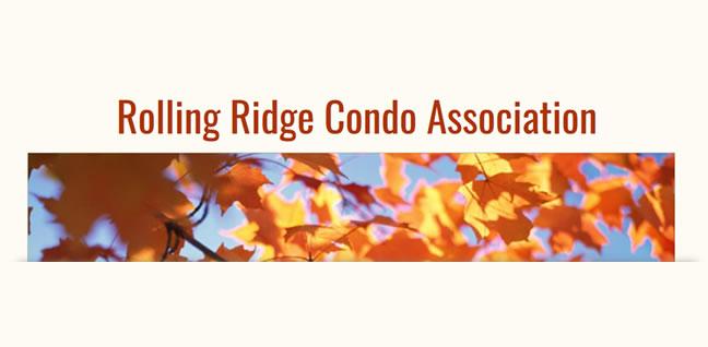 Rolling Ridge Condo Association